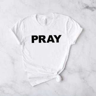 pray short sleeve shirt