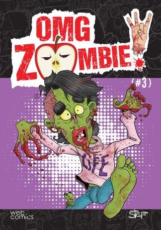 Εξώφυλλο OMG, Zombie! #3