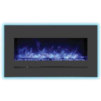 Linear 34 Wall Mount - Flush Mount Electric Fireplace