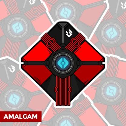 Destiny Amalgam ghost shell sticker by WildeThang