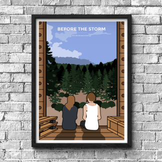 Life is Strange - Before the Storm gaming poster, gamer gift, rachel and chloe