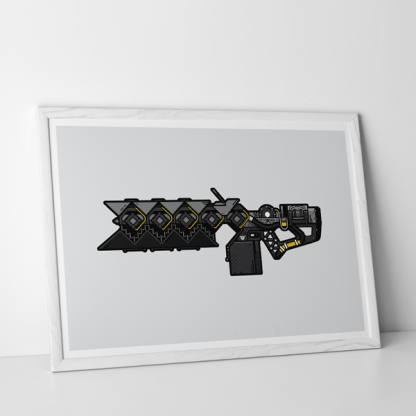 Destiny 2 Sleeper Simulant gaming poster by WildeThang