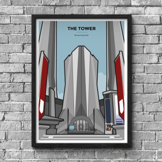 Destiny The Tower gaming poster by WildeThang