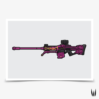 Destiny Her Benevolence sniper rifle gaming poster designed by WildeThang