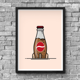 Fallout Nuka Cola gaming poster by WildeThang