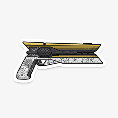 Destiny Sunshot gaming weapon sticker by WildeThang