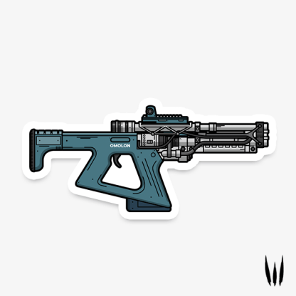 Destiny 2 Erentil fusion rifle vinyl sticker designed by WildeThang