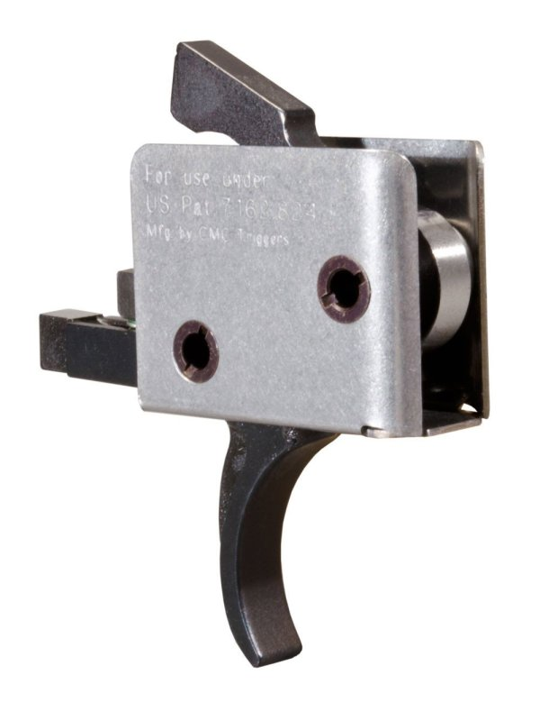 CMC Tactical Curved Trigger 3.5 Pound Pull Single Stage Trigger for AR platform rifles