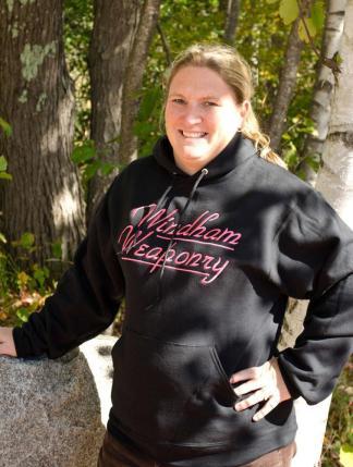 Windham Weaponry Black Hoodie Sweat Shirt - for Women