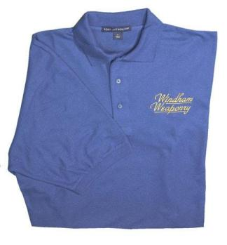 The Windham Weaponry Women's Blue Polo Shirt