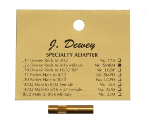Dewey Military Thread Adapter