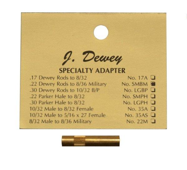 Dewey Military Thread Adapter