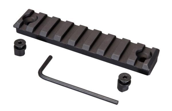 Midwest Industries 3.75inch KeyMod Rail for AR15 platform rifles