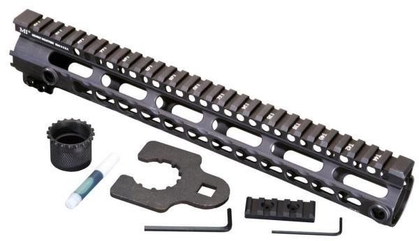 Midwest Industries SSK Key Mod 12 inch One Piece Handguard for .308 AR10 platform rifles