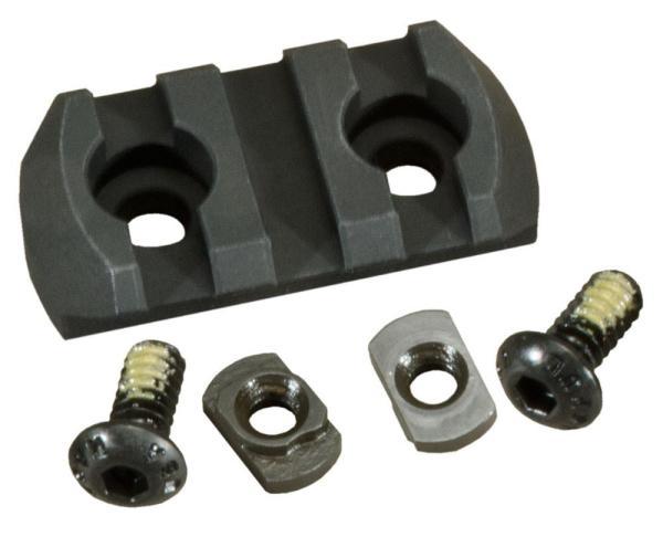 Magpul M-LOK 3 Slot Aluminum Picatinny Rail Section