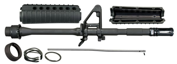 Windham Weaponry 14.5in M4 Barrel Kit with a permanently attached Extended A2 Birdcage Flash