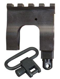 Mil. Std. 1913 Rail Gas Block Kit with Stud & Sling Swivel for AR15 / M16