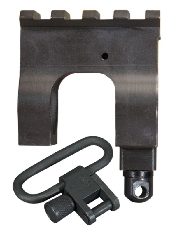 Mil. Std. 1913 Rail Gas Block Kit with Stud & Sling Swivel for AR15 / M16
