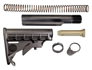 Complete 6 Position Telestock Kit for AR15 / M16