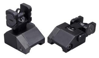 Aluminum Rear Flip Sight for AR15 / M16