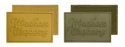 Windham Weaponry Rubber Velcro Logo Patches