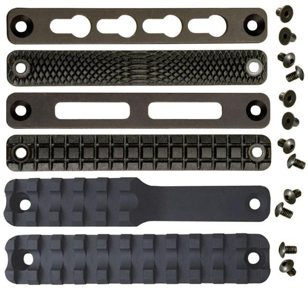 Interchangeable Panels for the MCS Railed Forend for Multi-Cal Rifles