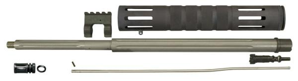 Varmint Exterminator 20in Fluted Threaded  Barrel Kit for AR15 / M16