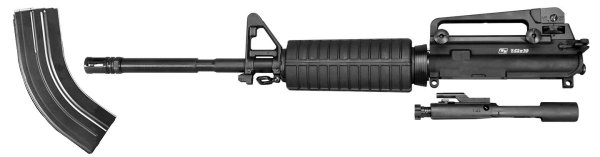 Upper Receiver / Barrel Assembly for 7.62x39 with A2 Front Sight