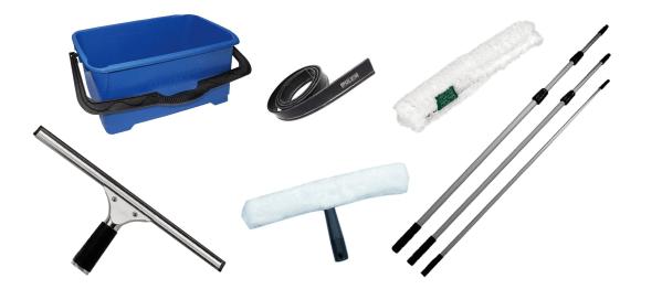 6 Metre Window Cleaning Equipment Kit