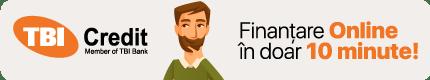 Finantare prin TBI Credit