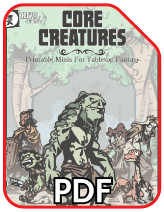 Core Creatures - PDF Icon