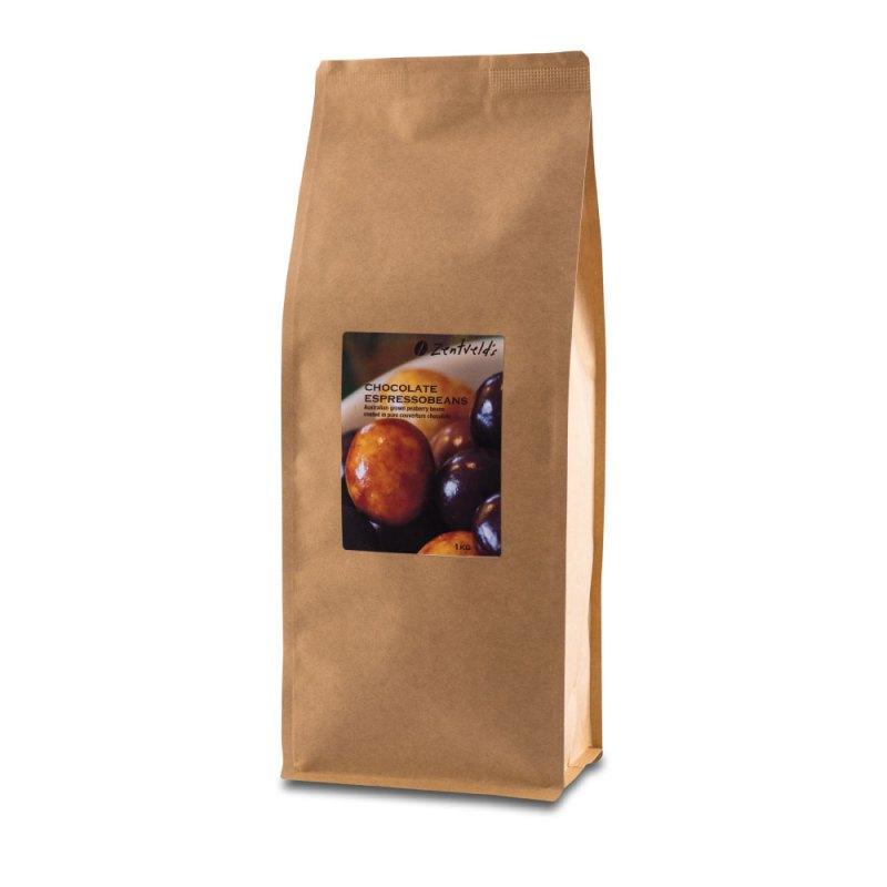 1kg Chocolate Espressobeans