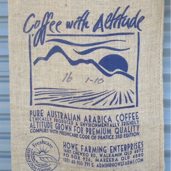button to buy hessian coffee bags