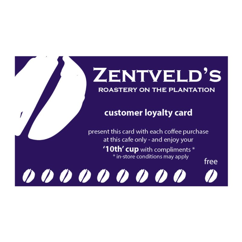 Zentveld's Loyalty Cards