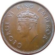 1938 1/4 Anna George VI King & Emperor