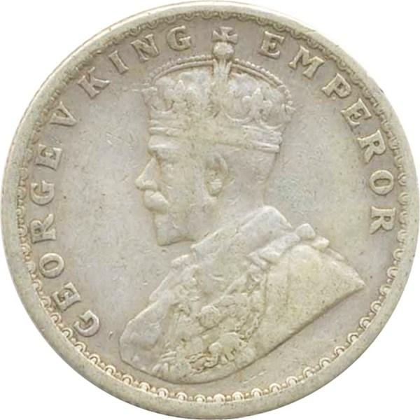 1912 1/2 Half Rupee Silver Coin King George V Calcutta Mint Rare Coin - Best Buy