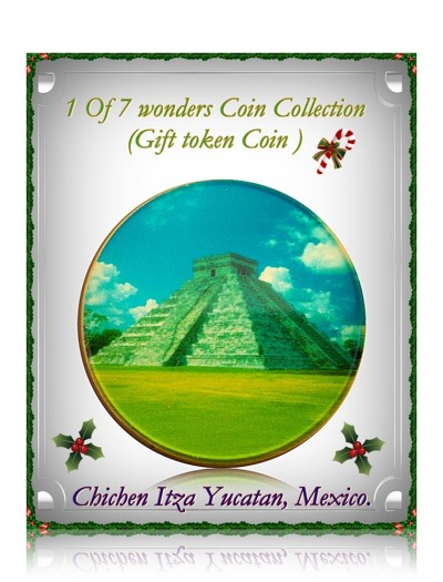 1 OF 7 WONDERS COIN COLLECTION