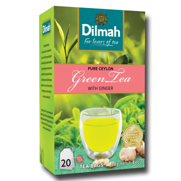 Dilmah Green Tea with Ginger