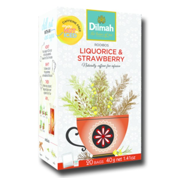 Dilmah Red Rooibos with Liquorice Strawberry
