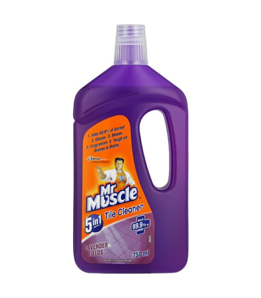 Mr. Muscle 5-In-1 Country Tile Cleaner 750ml