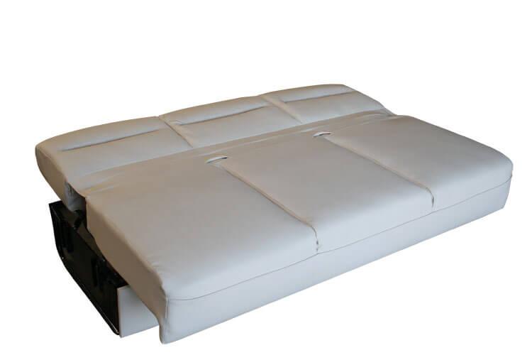 Leather Full Sleeper Sofa
