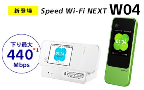 Sonet WiMAX 2+のW04