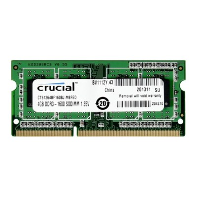 Crucial 4GB DDR3-1600MHz (CT51264BF160BJ)