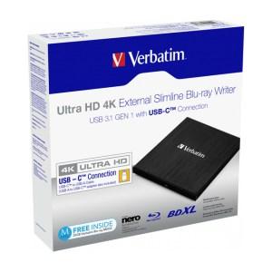 Verbatim External Slimline Blu-ray Writer
