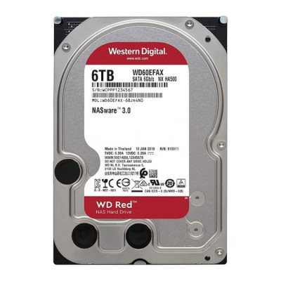 Western Digital Red NAS 6TB (256MB Cache)