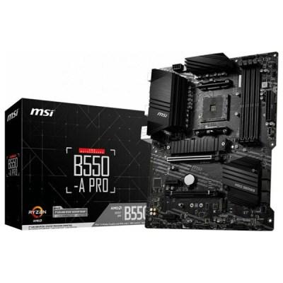 MSI B550-A Pro Motherboard ATX με AMD AM4 Socket