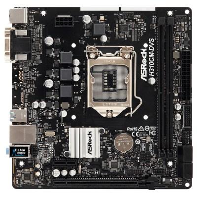 Asrock H310CM-DVS Motherboard Micro ATX με Intel 1151 Socket