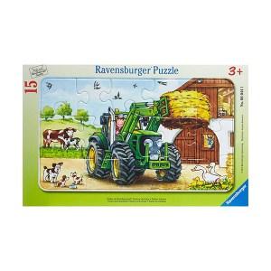 Tractor On Farm 15pcs Ravensburger (εως 36 Δόσεις)