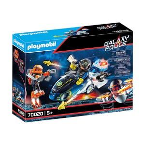 Playmobil Space: Galaxy Police Motorcycle (εως 36 δόσεις)