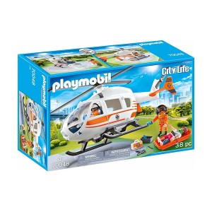 Playmobil City Life: Rescue Helicopter (εως 36 δόσεις)